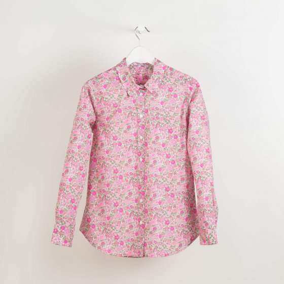 camisa liberty m fluor fucsia by casilda